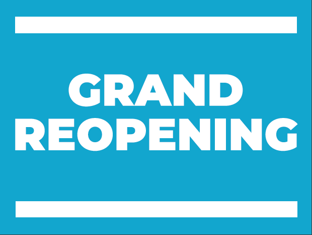 40'' x 30'' Banner – Grand Reopening