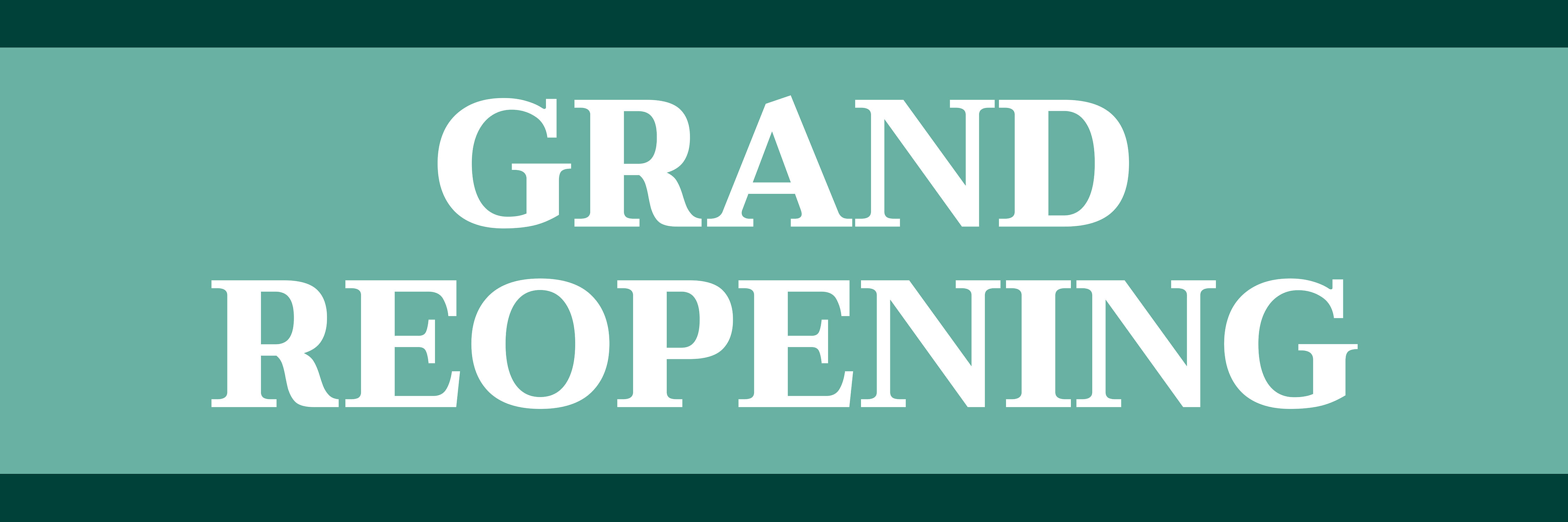 12' x 4' Banner – Grand Reopening