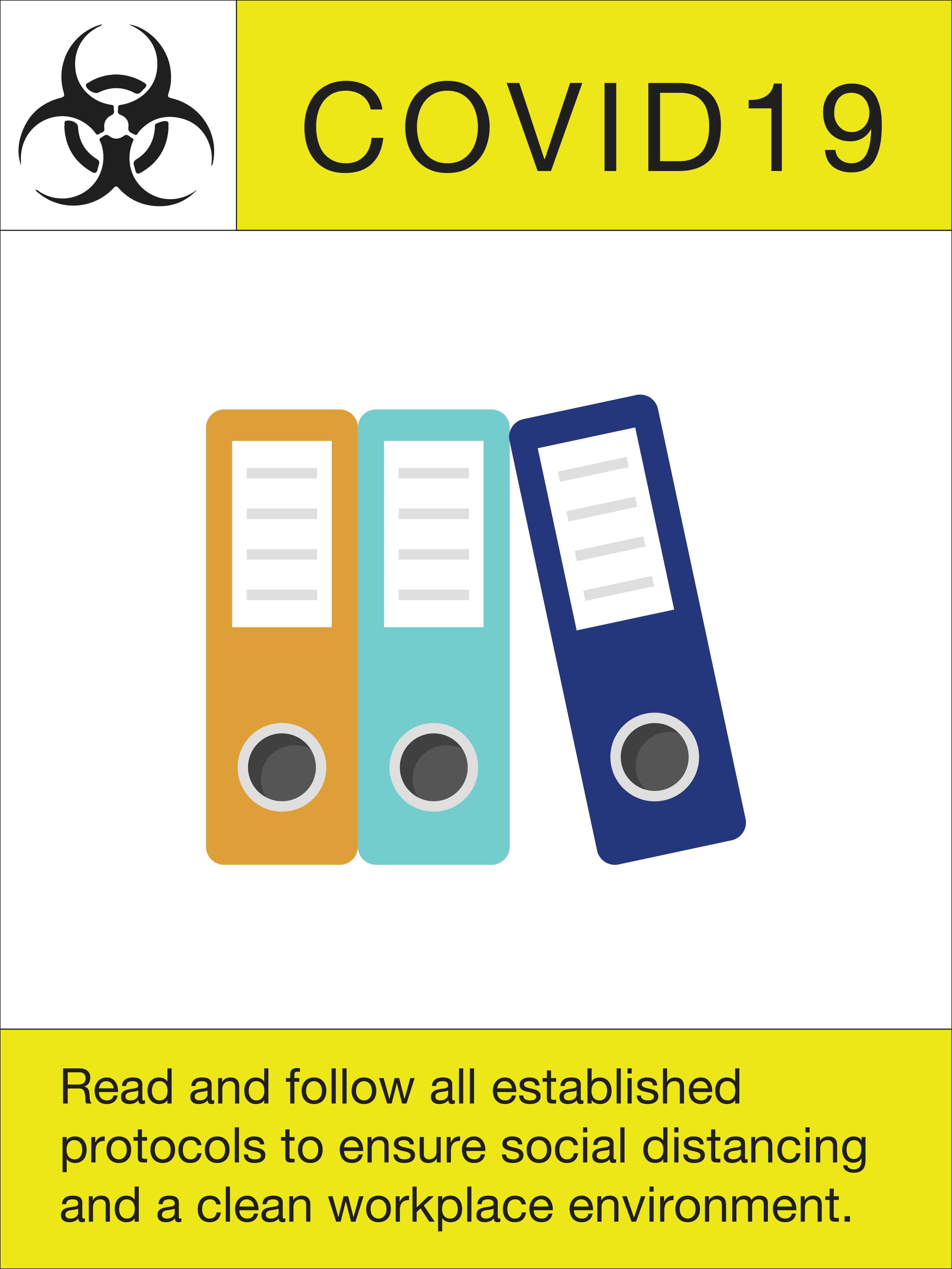 """24"""" x 18"""" Poster – """"Read and Follow"""""""