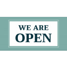 8' x 4' Banner – We're Open