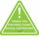 "18"" x 18"" Floor Graphic – Social Distancing"