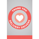 "11"" x 17"" Poster – Delivery Drivers"