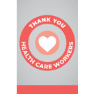 "11"" x 17"" Poster – Healthcare Workers"