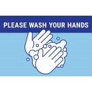 "17"" x 11"" Poster – Wash Your Hands"