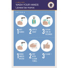 "36"" x 24"" Poster – ""Wash Your Hands"""