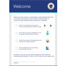 "16"" x 22"" Poster – ""Safety Standards Agreement"""