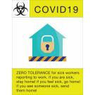 """24"""" x 18"""" Poster – """"Zero Tolerance"""""""